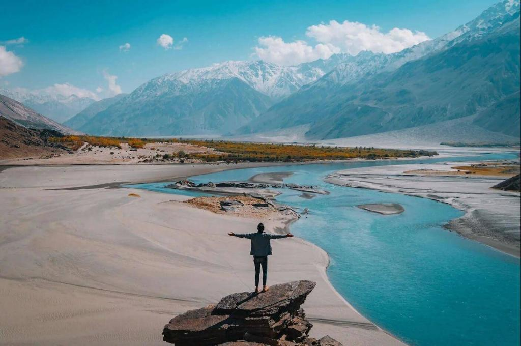 Altai mountains where Shilajit can be found