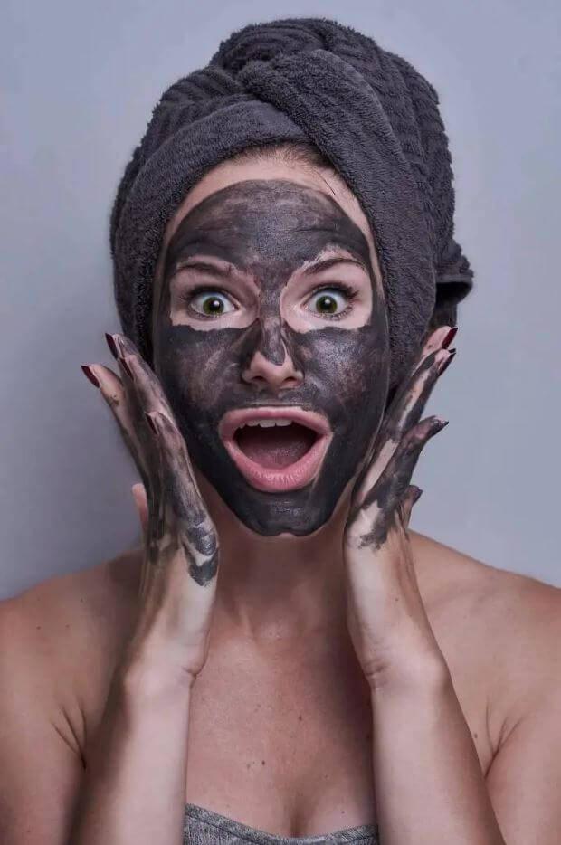 Shilajit skin mask