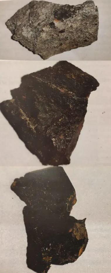 Meteorite samples